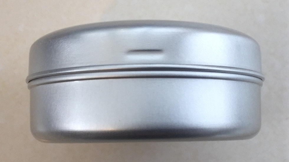 Shampoo and Conditioning Bar Storage Tin