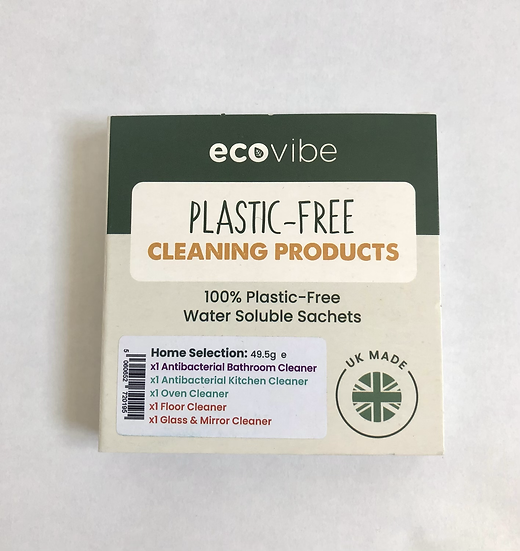 Mixed Pack of 5 Plastic Free Cleaning Sachets