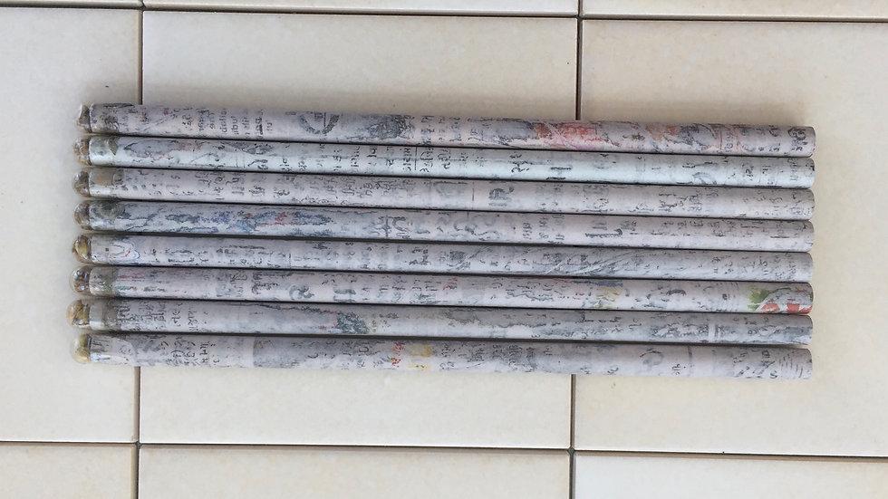 Newspaper Seed Pencil