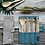 Thumbnail: Cutlery Set, Straw and Travel Case Blue