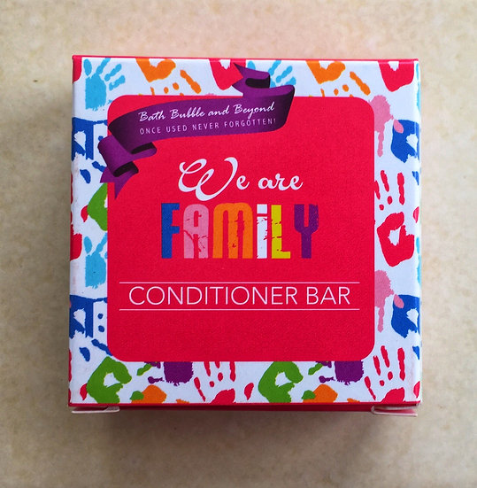 We Are Family Conditioner Bar
