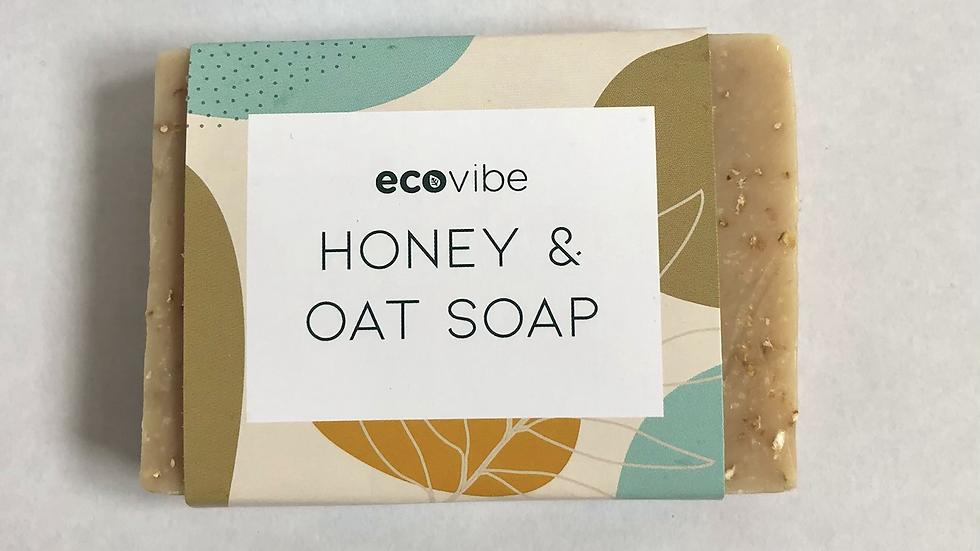 Anti Bacterial Honey and Oat Soap Bar