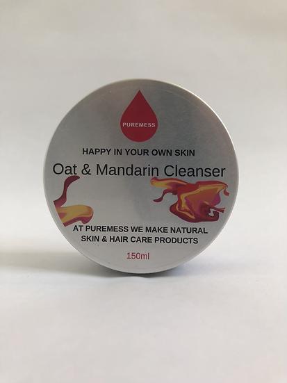 Oat and Mandarin Cleanser