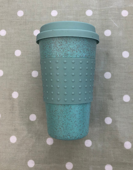 Wheat Straw Fibre Coffee Cup Green
