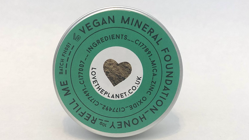 Honey Mineral Foundation