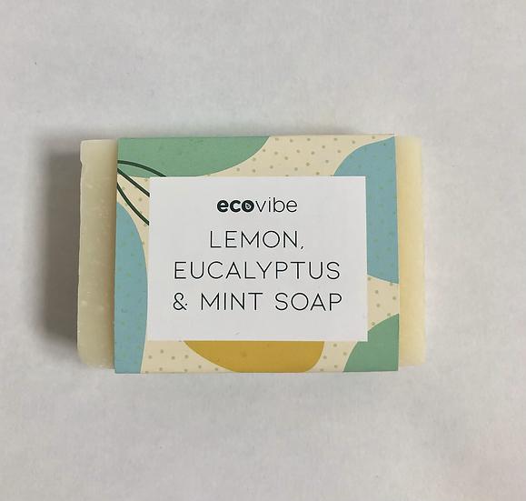 Anti Bacterial Lemon, Eucalyptus & Mint Soap Bar