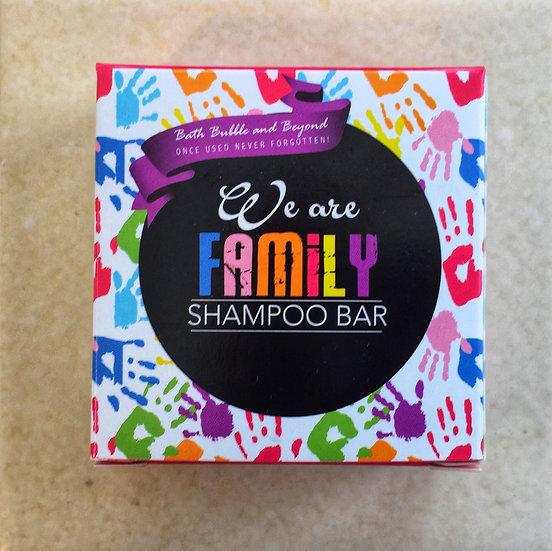 We are Family Shampoo Bar