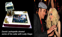 David LaChapelle and Lady Gaga