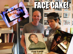 FACE CAKE - Custom Photo Cakes