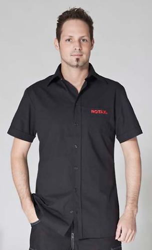 Camisa Negra ROTAX