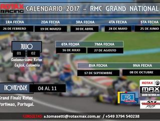 Calendario 2017 - RMC GRAND NATIONAL