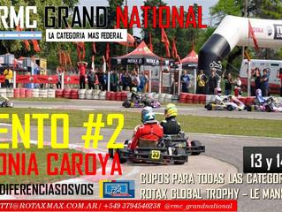 La categoría más federal del país, RMC Grand National, llega a Colonia Caroya para cumplir con el ev