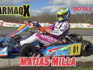 Matías Milla se suma a la DD2 Senior