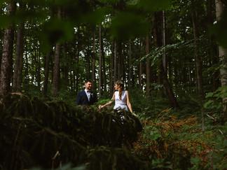 Svatba v podhůří Beskyd