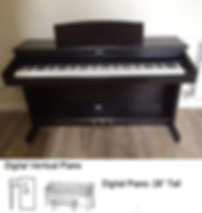 Luna's Piano Movers - Digital Pano Measurements