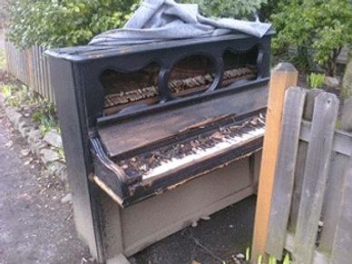 Luna's Piano Moving & Storage - Junk Piano Removal