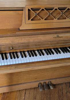 Upright Piano Before prep