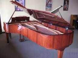 Moving a concert grand.