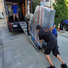 Luna's Piano Moving - - Loading a baby grand piano. Pushing a grand piano up a ramp. How to load a baby grand piano. Loading ramp for pianos