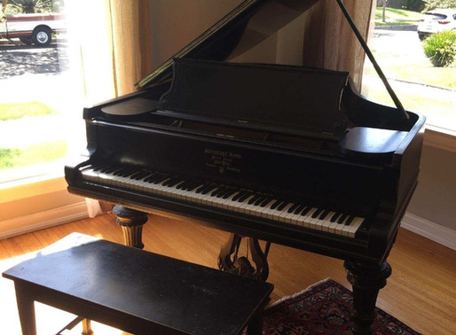6ft Steinway Grand going into storage?