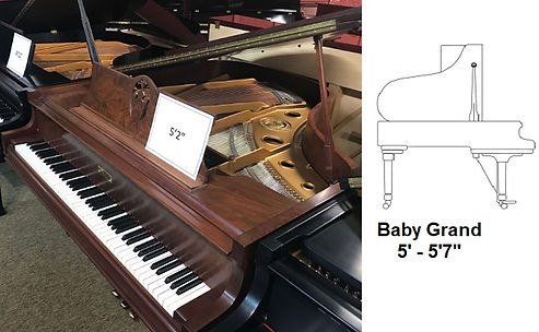 Luna's Piano Movers - 5ft2inch baby grand - Piano Moving