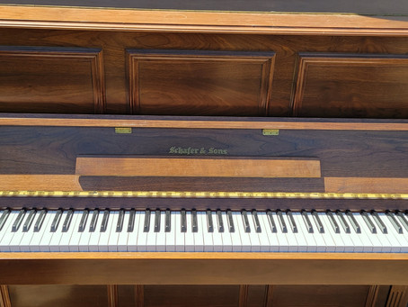 Moving an upright piano
