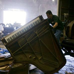 Luna's Piano Moving & Strage - Luna's Piano Movers (junk removal)