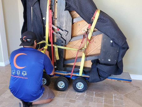 Moving A Baby Grand Piano