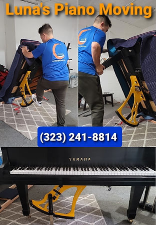 Luna's Piano Moving & Storage - Contact us