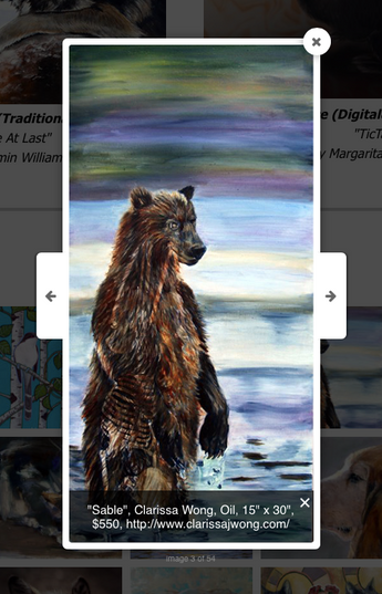 Fusion Art online gallery