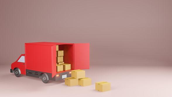 delivery-service-concept-delivery-van-3d