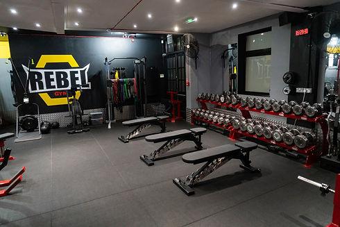 Rebel Gym, Dumbbell Section.jpg