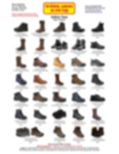 Saftey Toes Men Women Work Shoe Hawaii Work Shoes