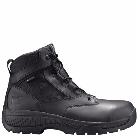 "Timberland Valor 6"" w/Side Zip Safety Toe"