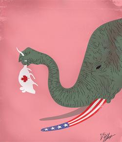 Éléphant et la souris