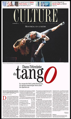Dans l'étreinte du tango
