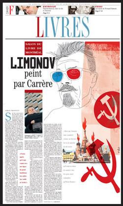 Limonov peint par Carrère