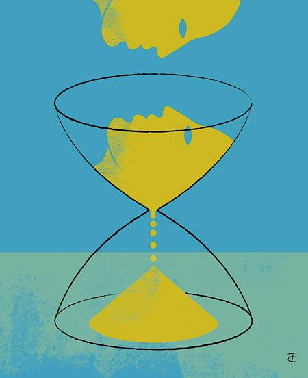 La conscience intime du temps