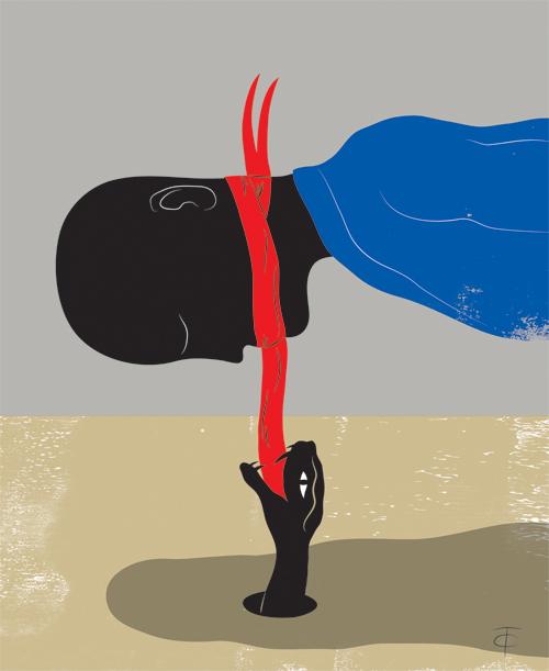 Terreur souterraine et censure