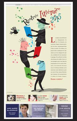 Rentree littéraire 2015