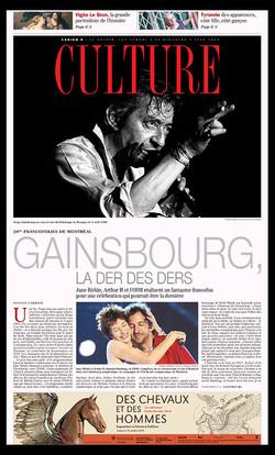 Gainsbourg Francophilies de Montréal