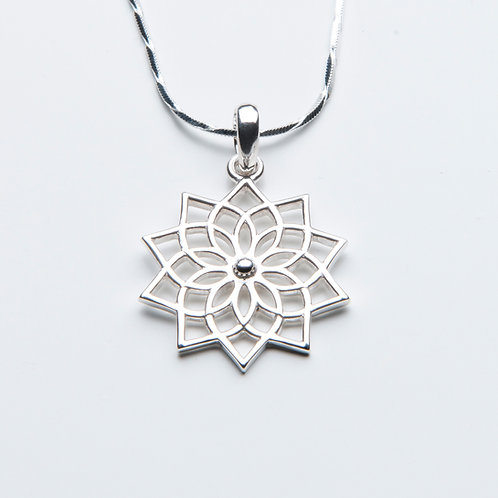 Lotus Mandala Necklace