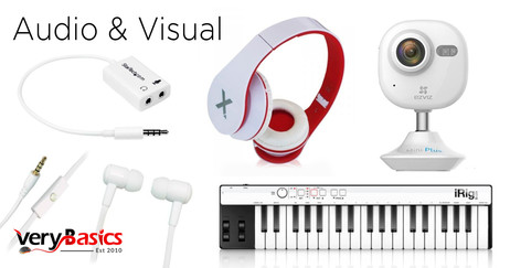 Very Basics Audio & Visual 4 products FB.jpg