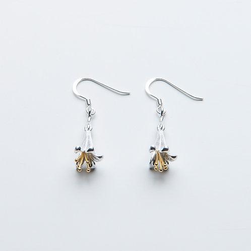 Gold & Silver Fuchsia Drops