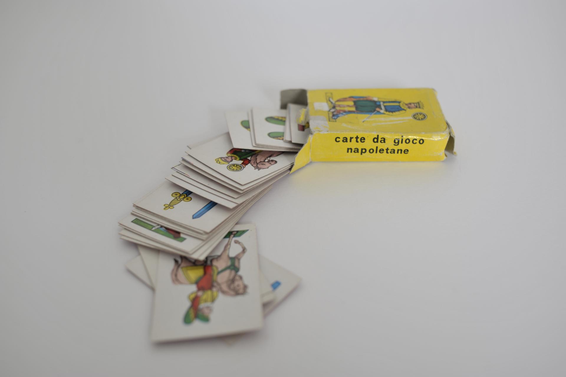 15. mini carte da gioco napoletane
