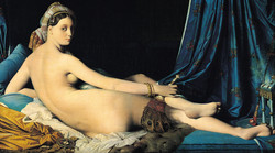 . Ingres, La gande odalisca,1814 .