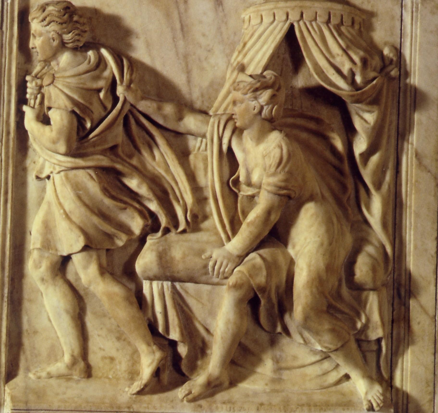.Giuseppe e la moglie di Putifarre .