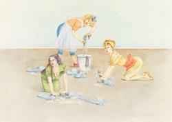 . Hausfrauen .
