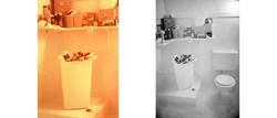 . Menstruation bathroom .