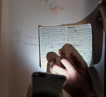 14_ scrivere al buio